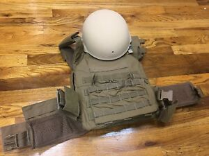 Large Cradyne Helmet + XL Tactical Tailor Plate Carrier