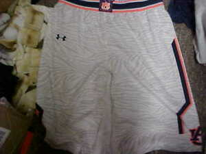 Auburn Tigers Team Issued Game Worn Under Armour Basketball Shorts Size XL Tall