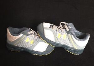 Under Armour Baby Shoes Size 3K Blueyellow Baby Shoes Free Shipping