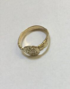 Gold Museum Quality Crusaders Period Ring