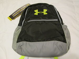 BRAND NEW UNISEX Under Armour Storm 1 Backpack BlackNeon 16x11x6 FREE SHIPPING