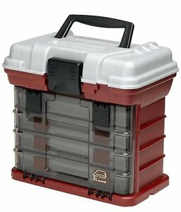Full Tackle Tool Box 4 Drawer Boxes For More Loaded Lures And Baits Hooks New
