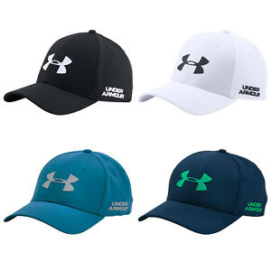2018 Under Armour Mens Headline Stretch Fit Cap -New UA Golf Baseball Hat Sports