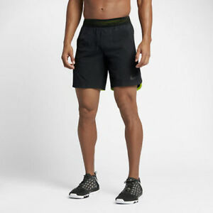 847819 010 NEW with tag Nike Mens FLEX REPEL 8 TRAINING SHORTS $100 $33.00
