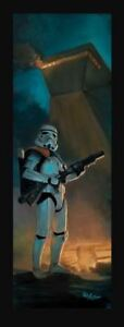 ACME ARCHIVES STAR WARS GICLEE ON CANVAS PRINT BY ROB KAZ quot;EXCESSIVE FORCEquot; JAWA $249.99