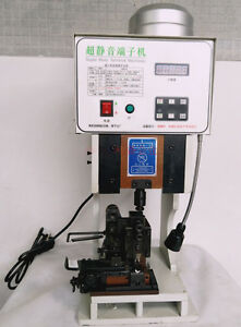 2T Super Mute Terminal Wire Crimping machine with OTP Horizontal Mold 220V Y