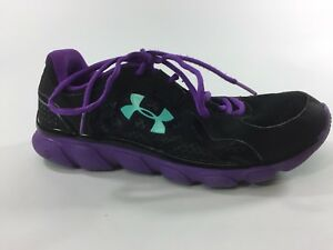 Under Armour Women's size 9M Purple Laced Athletic Sneaker Walking Shoes