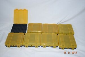 Plano 9mm ammo cases - lot of 8