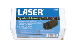 Laser Tools 6435 Flywheel Turning Tool 1 2 Drive TO FIT Volvo Renault HGV GBP 32.39
