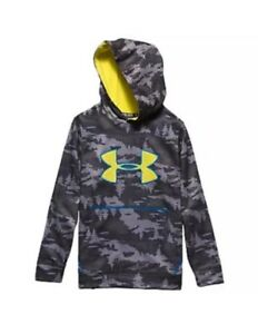 Under Armour Youth STORM Caliber Hoodie (Charcoal Camo)