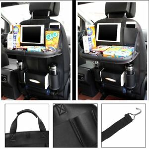 Auto Car Seat Back Multi-Pocket Storage Bag Organizer Holder Accessory Black RT