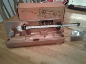 NOS Lyman Ohaus M5 Precision Reloading Scale In Box