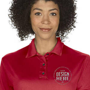 Custom Personalized Embroidered Women's Performance Dri-fit Polo Shirt
