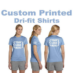Custom Printed Women's Dri-Fit apparel Personalized Shirt With Your Logo