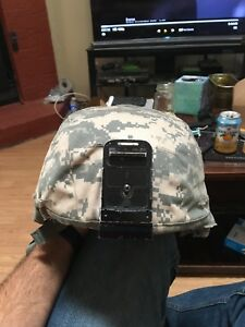 Current issue Airforce military Helmet with cover. Kevlar.