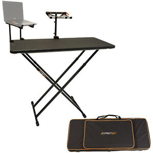 Fastset Fast-Attach Producer Bundle (black) with Table Laptop & Keyboard Stands