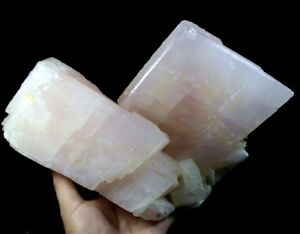 POWERFUL 6385g 300mm Lustrous Pink Manganocalcite - Fluorescent China CMM373077