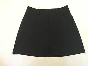 NIKE GOLF FIT DRY  WOMENS SKIRT SKORT WITH BUILT SHORTS SIZE 6