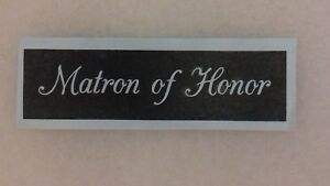 10 - 400 Matron of Honor stencils for etching on glass  wedding favor gift