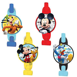Mickey Mouse Blowouts Kids Birthday Party Favor Supplies 8ct On the Go Toys