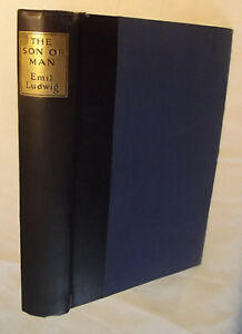 SON OF MAN Emil Ludwig 1928 1st Edition 8 Rembrandt Drawings Ernest Benn London $35.00