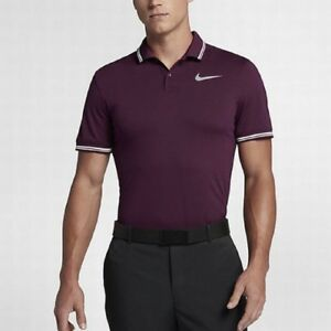Nike NEW Mens Dry Tipped Modern Fit Golf Polo Shirt 833075 Large L $75
