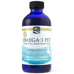 Nordic Naturals Omega 3 Pet - Omega-3 Fish Oil For Dogs Promotes Overall Health