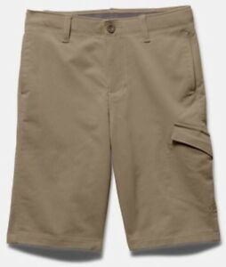 UNDER ARMOUR KIDS UA YOUTH MATCHPLAY CARGO SHORTS GOLF SHORT JORDAN SPIETH $49.99
