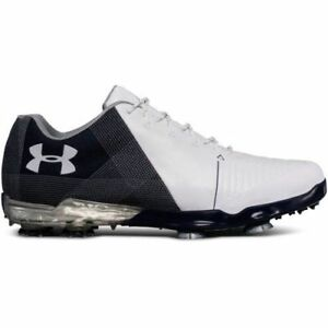 New Under Armour SPIETH 2 Golf Shoes Medium WhiteAcademy 3000165 Choose a Size