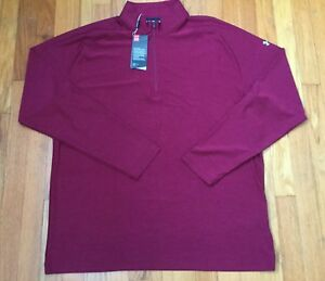 New! Under Armour Loose Fit Shirt - Pullover Top Quarter 14 Zip XL Long Sleeve