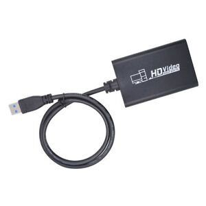 MagiDeal USB3.0 to HDMI Capture Card Dongle 1080P Video Audio Adapter for PC