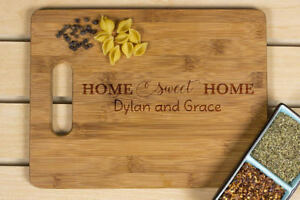 Home sweet home cutting, Kitchen decor,Personalized Cutting Board, Wedding Gift