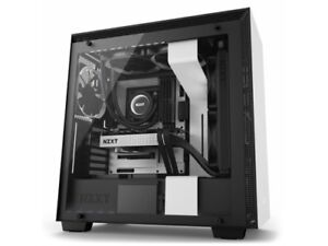 NZXT Case CA-H700W-WB H700i (3) USB 3.1 WINDOW CAM No Power Supply Mid-Tower