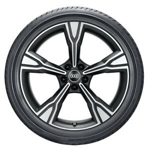 Audi Original TT TTS Summer Wheels Set 5 Arm Rima Design 9 0jx20 ET 42