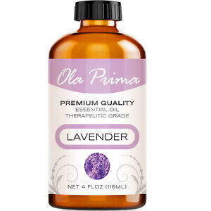 Lavender Essential Oil Multiple Sizes 100% Pure Amber Bottle
