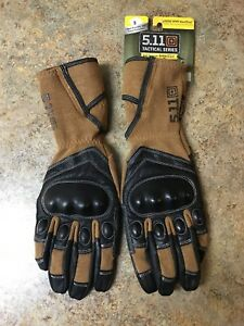 5.11 Tactical 59355 XPRT Hardtime Kevlar Knuckles Gloves Gauntlet Size Small New