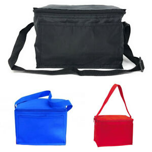 Insulated Cooler Lunch Box Bag 6 Pack Picnic Beer Drink Water 9 X 6 1 4quot;