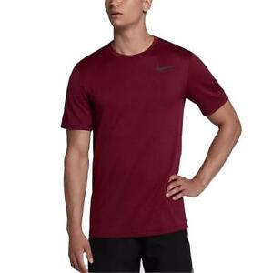 Nike Breathe Men's Short-Sleeve Training Running Gym Top