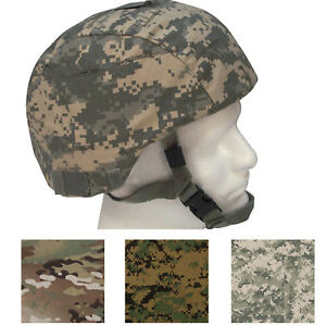 Tactical MICH Helmet Cover Military Camo Army ACU Multicam Scorpion OCP Combat