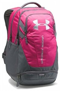 Under Armour Hustle 3.0 Backpack Tropic PinkGraphite One Size