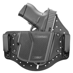 FOBUS HOLSTER UNIVERSAL IWB SINGLE STACK S-COMPACT WLASER