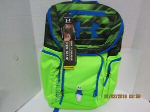 Under Armour Storm 1 Water Resistant Extra Large Backpack - NWT - 2 Colors