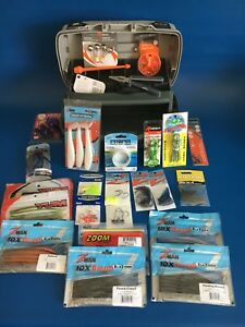 NEW-LOADED-PLANO TACKLE BOX WITH ALL NEW TACKLE