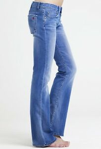 MiH Designer Jeans Mid Rise Bootcut Light Blue Multiple Sizes NWT  MSRP $242