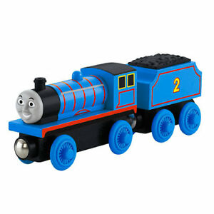 Thomas & Friends Fisher-Price Thomas the Train Wooden Railway Edward The Blue