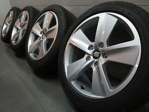 17 Inch Original Summer Wheels Seat Leon 5F Dynamic Design 5F0601025B Rims H63)