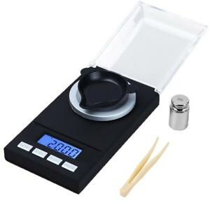 Digital Milligram Scale Reloading Jewelry Scale Digital Weight Calibration Pans
