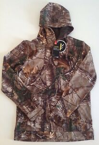 NWT Under Armour Youth Boys Realtree Storm Camo Hoodie Coldgear 1286119 948 XL