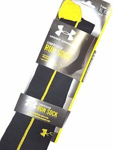 Under Armour mens Compression CIRCULARE tall Running SOCKS size XL retail $50