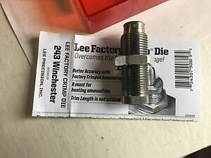 LEE FACTORY CRIMP DIE for 243 WINCHESTER 90819